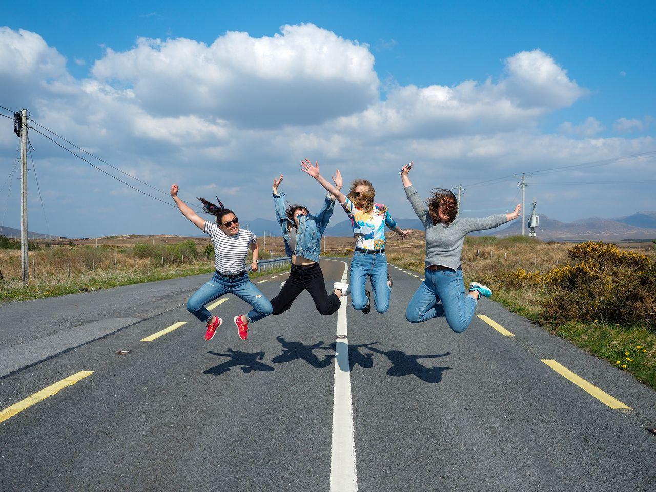 Auslandssemester trotz(t) Corona: Miriam Berchtel und ihre Freundinnen studieren zur Zeit in Irland