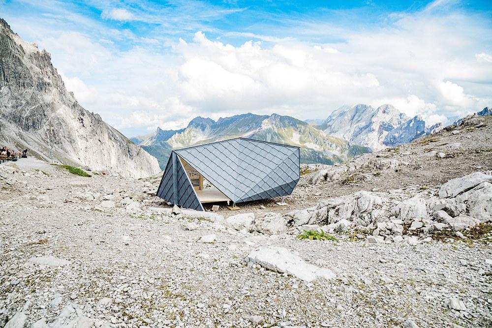 Eines der Pro-Bono-Projekte der Universität Liechtenstein: der mobile Ausstellungspavillion WissWak.