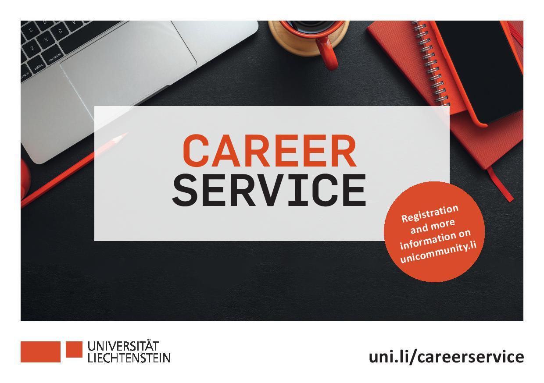 Career Service der Universität Liechtenstein