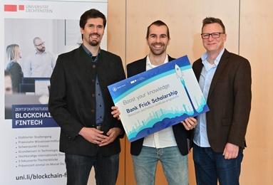 Bank Frick vergibt Stipendium