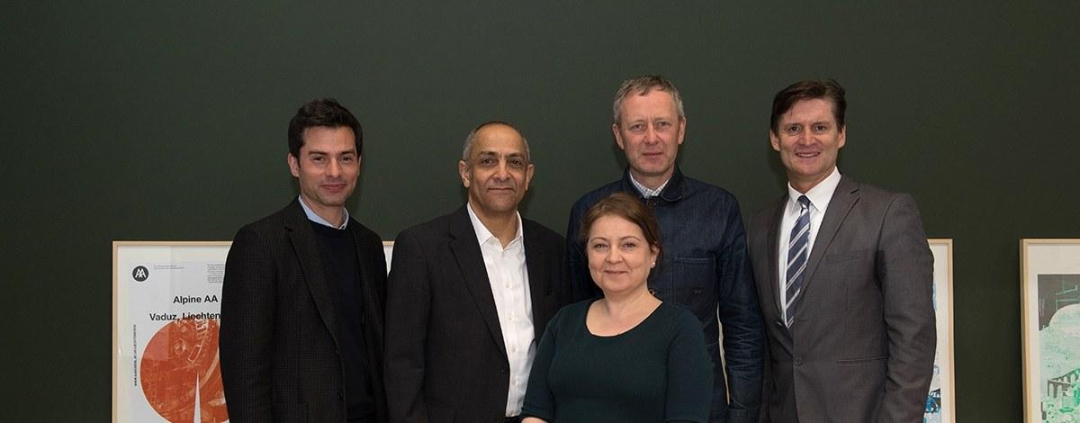 """""""Candidate status"""" für das Institut für Architektur und Raumentwicklung"""