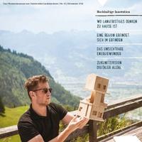 Denkraum: Universität Liechtenstein lanciert erstes Wissensmagazin im Alpenrheintal