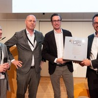 """European Research Paper of the Year""-Award gewonnen"