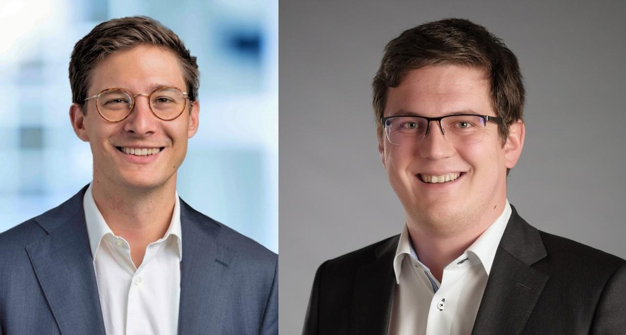 Julian Kölbel und Martin Nerlinger (v. l.)