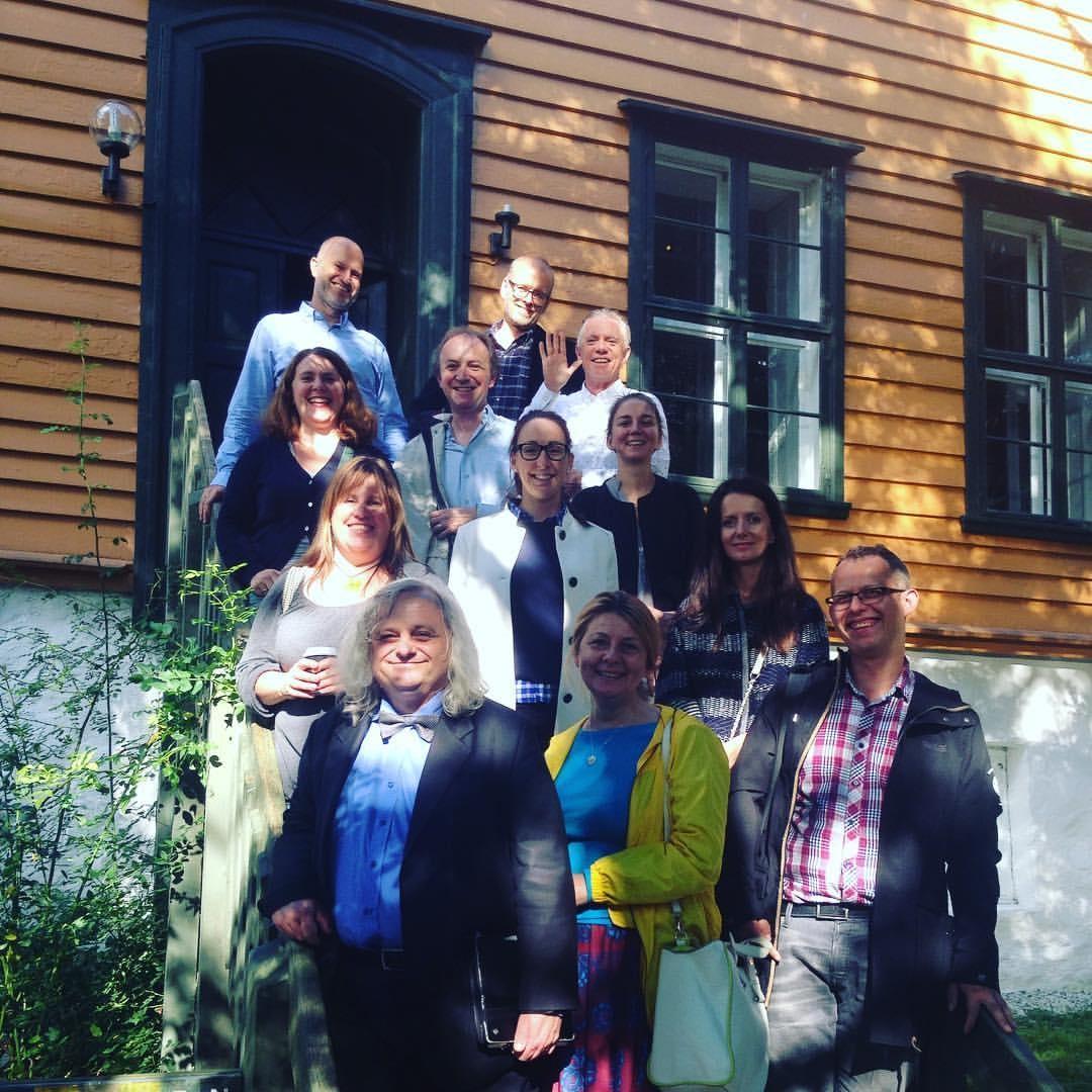 Projektteam aus Liechtenstein, Polen und Norwegen