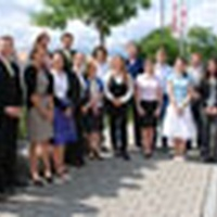 Studierende der Ludwig-Maximilians-Universität München (LMU) präsentieren ihre Seminararbeiten an der Universität Liechtenstein in Vaduz