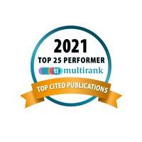 Universität Liechtenstein in diesem Jahr auch bei den meistzitierten Forschungspublikationen in den Top 25