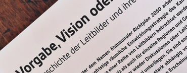 Vorgabe, Vision oder Utopie?