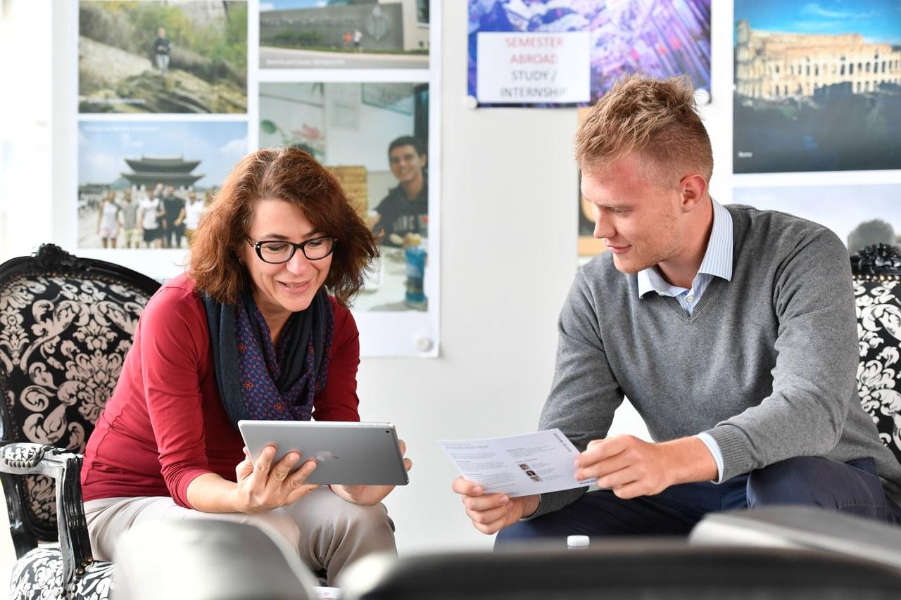 Universität Liechtenstein Gespräch Zulassung
