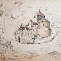 Der Wiederaufbau von Schloss Vaduz
