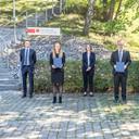 Vivien Ehle und Florian Alt ausgezeichnet mit LGT University Scholarship