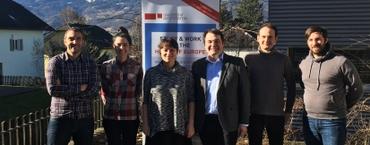 RISE-BPM Forscher besuchten die Universität Liechtenstein