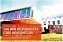 Tag der Universität - Dies Academicus