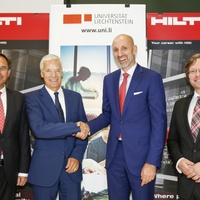 Hilti and the University of Liechtenstein extend their collaboration