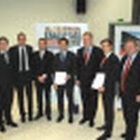 Prize-giving ceremony for Banking Award Liechtenstein 2012