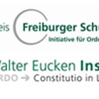 Professor Martin Wenz and Dr. Tanja Kirn speak at the State in the Third Millennium Symposium of the Freiburg School Action Group
