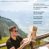 University of Liechtenstein launches first knowledge magazine in the Alpenrheintal
