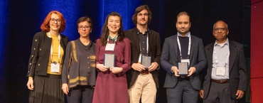 "University researchers receive award for ""Best publication of the year"""