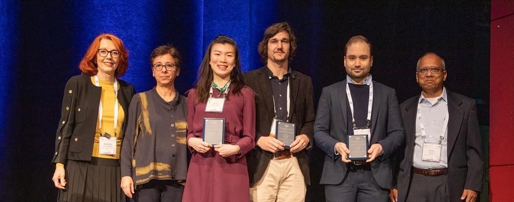 """University researchers receive award for """"Best publication of the year"""""""