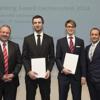 Winner of the Liechtenstein Banking Award 2014