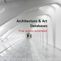 Trial access to databases extended - Architecture & Art