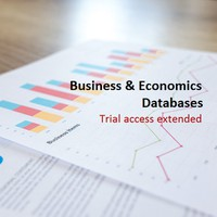 Trial access to databases extended - Business & Economics